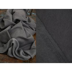 Organic Woolen Fleece Sweat, calm Grey