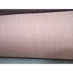 Wachstuch Linen Coated, Au Maison, Basic- Old Rose
